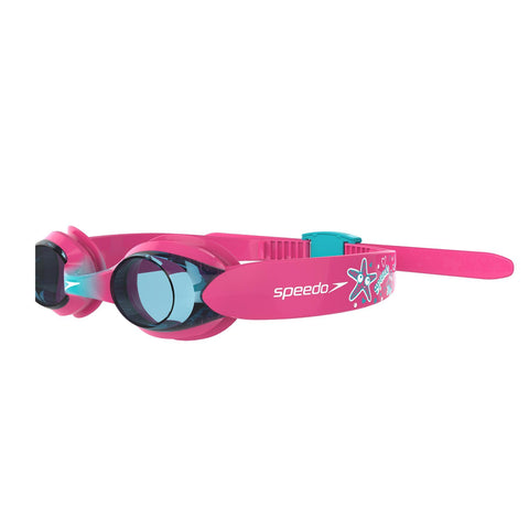 Speedo Illusion Goggles Infant Vegas Pink/Bali Blue/Blue - clickswim.co.nz
