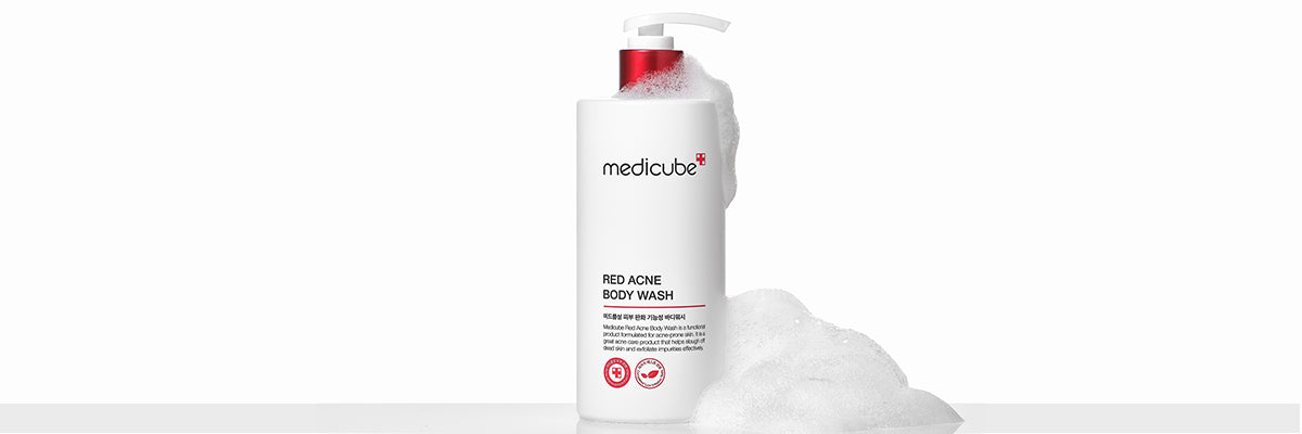 Red Acne Body Wash