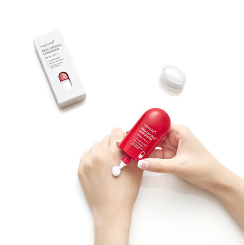 Red Capsule Suncream_30g