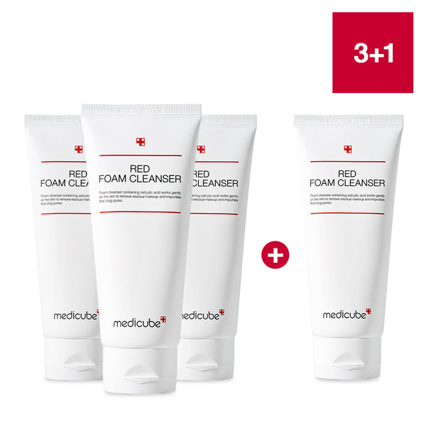 3 + 1 Red Foam Cleanser [MEGA BUNDLE]