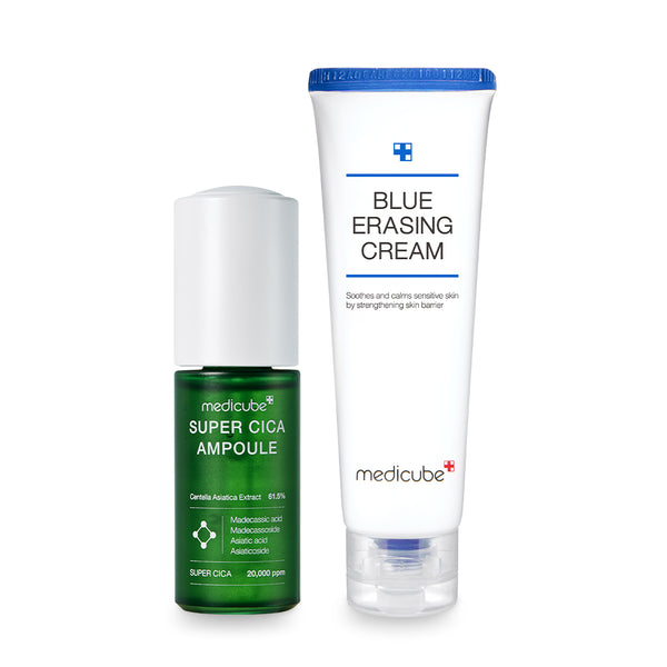 Super Cica Ampoule + Blue Erasing Cream