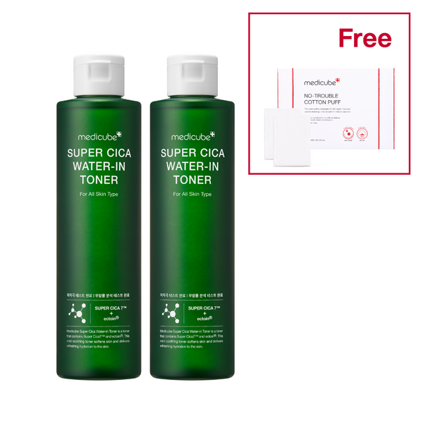Cica Water-In Toner Duo Set