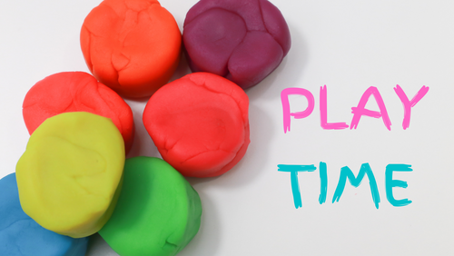 Creative Play: Homemade No Cook Playdough