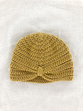 Merino cotton turban beanie
