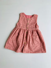 Delilah eyelet dress