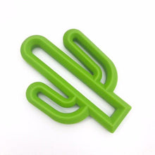 Cactus POP silicone teether