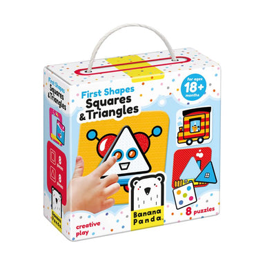 1ST SHAPES SQUARES & TRIANGLES