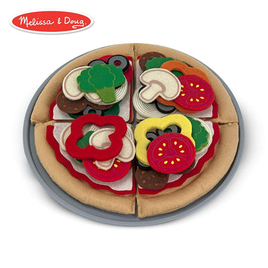 MUL-FELT FOOD PIZZA SET