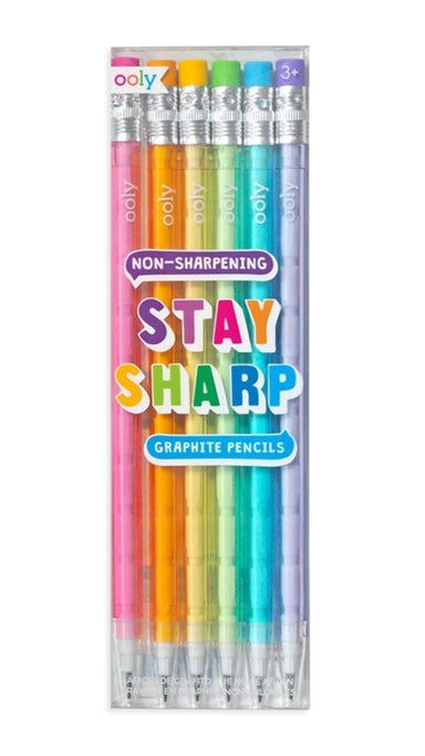 Stay Sharp Pencils - Set of 6