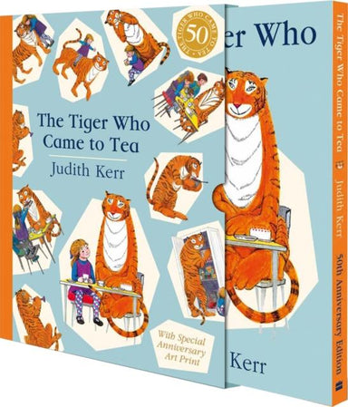 THE TIGER WHO CAME TO TEA GIFT EDITION : NEW LIMITED EDITION OF JUDITH KERR'S CLASSIC CHILDREN'S BOOK