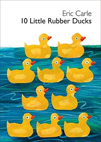 10 LITTLE RUBBER DUCKS-BOARD