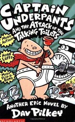 CAPTAIN UNDERPANTS/ATTACK TALKING TOILET