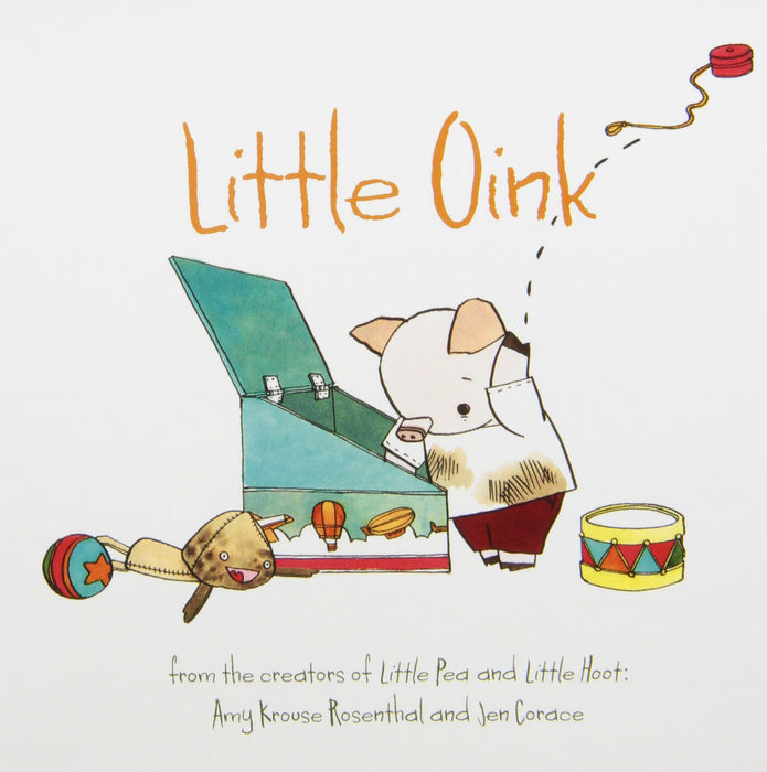 Little Books Boxed Set Featuring Little Pea, Little Hoot, Little Oink