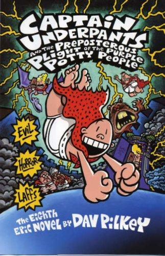 CAPTAIN UNDERPANTS & THE PREPOSTEROUS