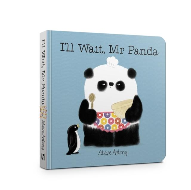 I'LL WAIT, MR PANDA BOARD BOOK