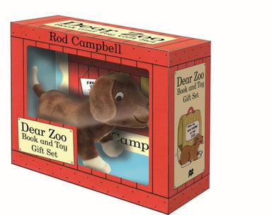 DEAR ZOO BOOK AND TOY GIFT SET : PUPPY