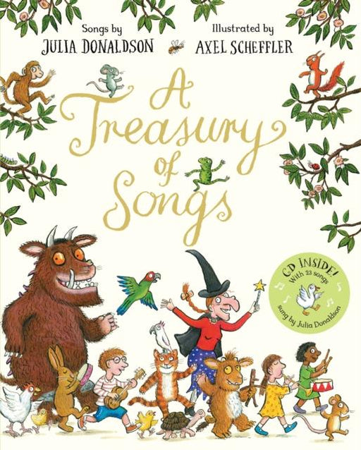 A Treasury Of Songs : Book And Cd Pack