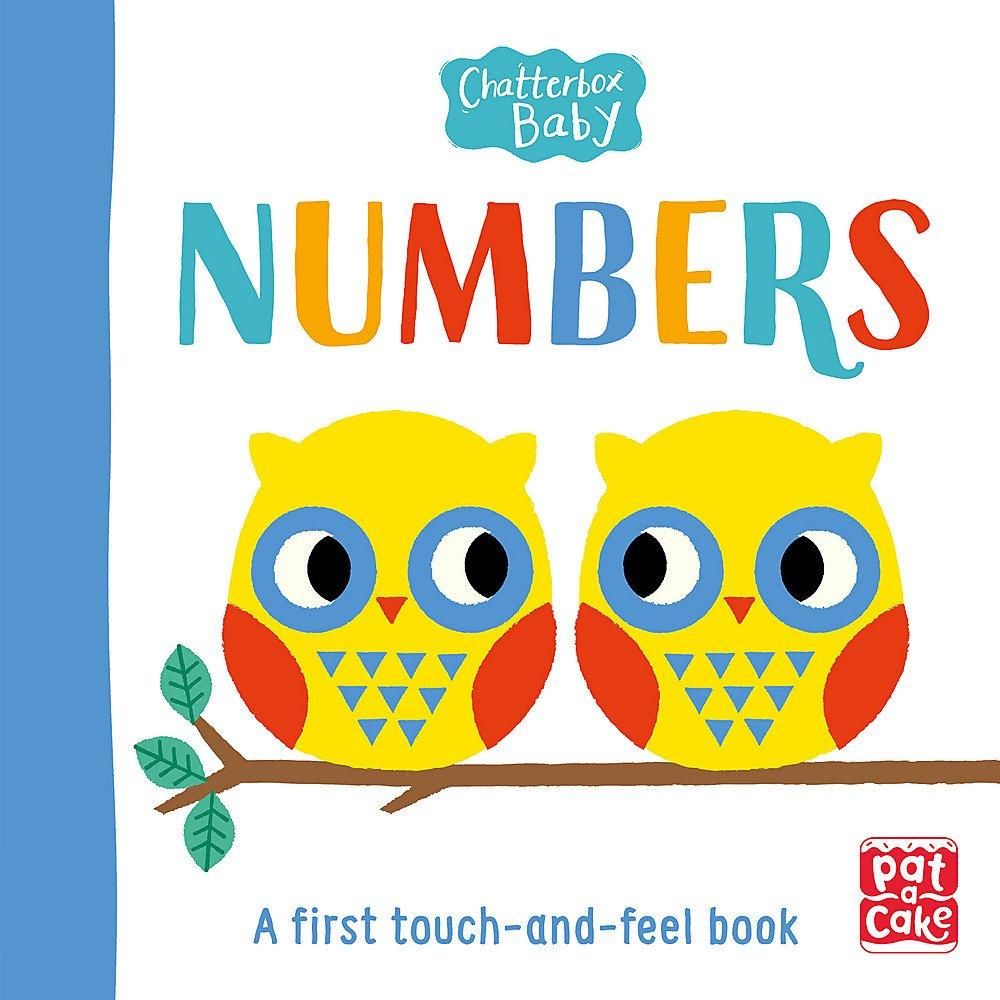 Chatterbox Baby: Numbers: A touch-and-feel board book to share