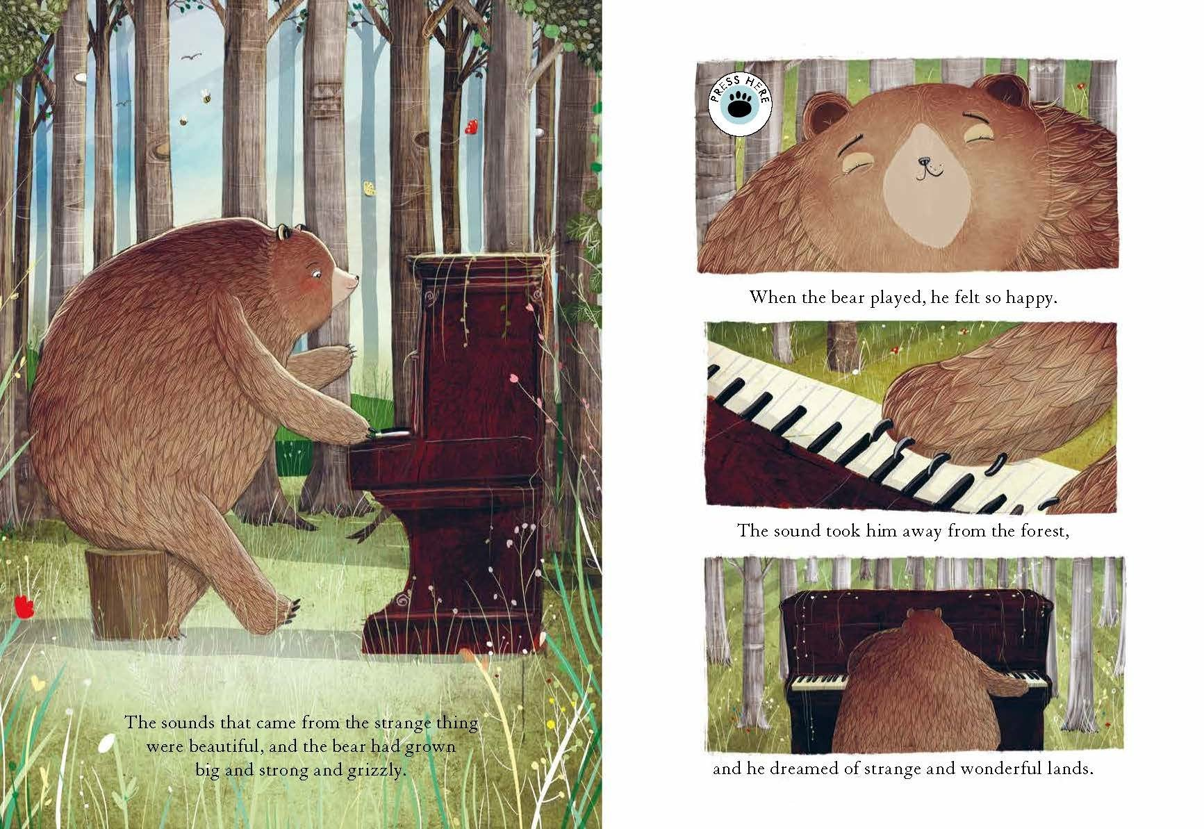 The Bear and the Piano Sound Book
