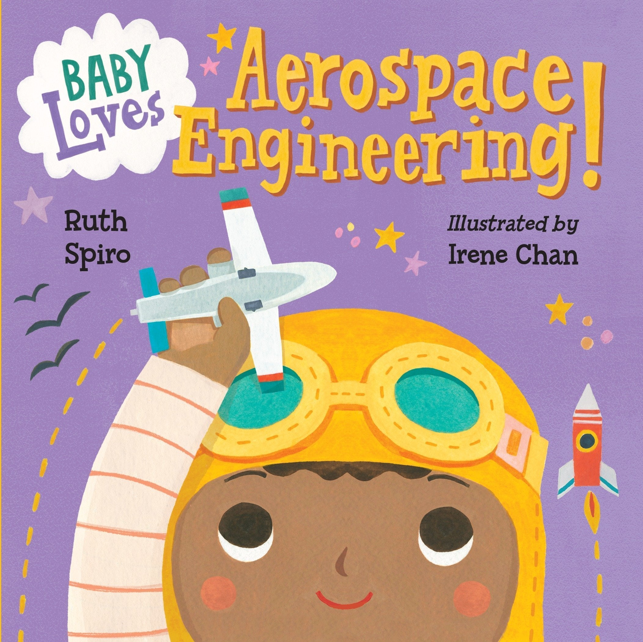 Baby loves aerospace engineering (cover)