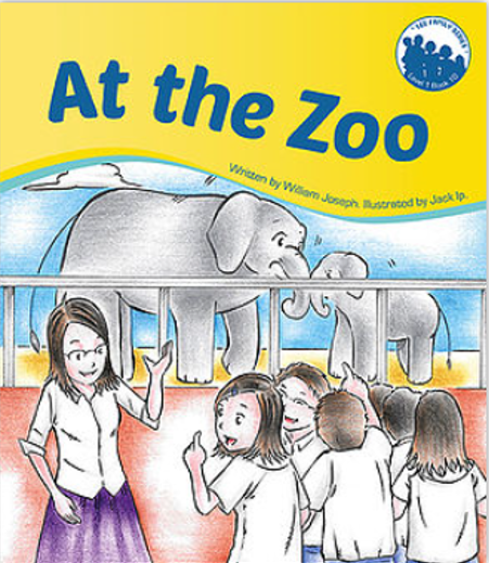 Lee Family Series. Books 10: At the Zoo
