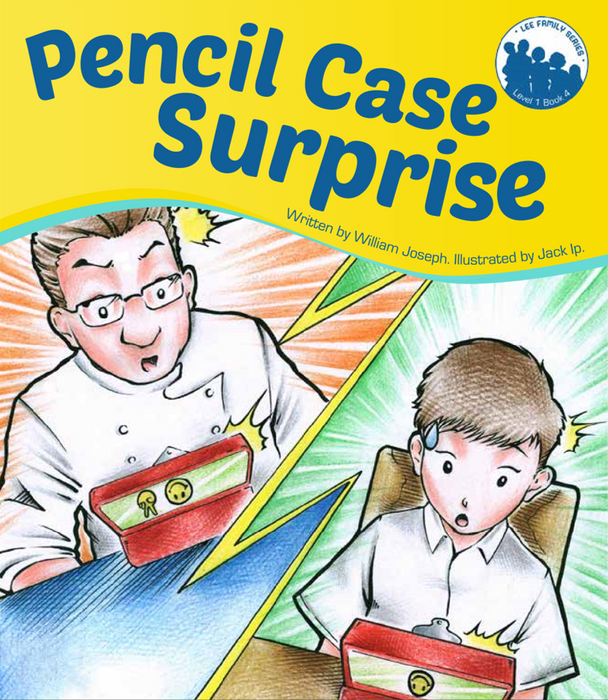 Lee Family Series. Books 4: Pencil Case Surprise