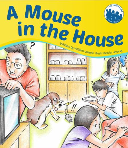 Lee Family Series. Books 9: A mouse in the House