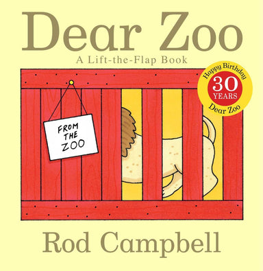 Dear Zoo (Cover)