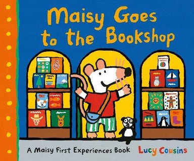 Maisy goes to the bookshop (cover)