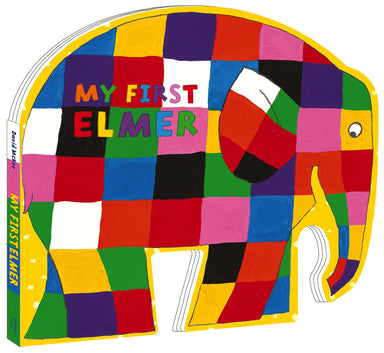 My first elmer shaped board book (cover)