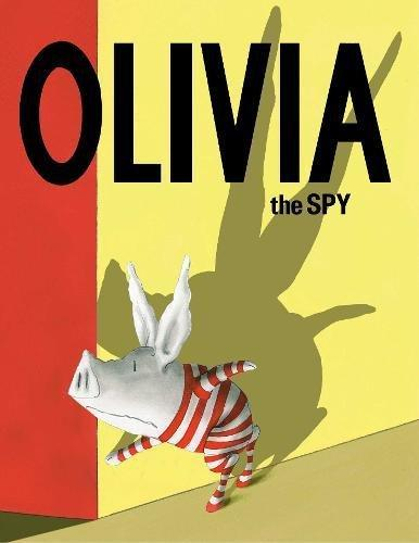 Olivia the spy (cover)
