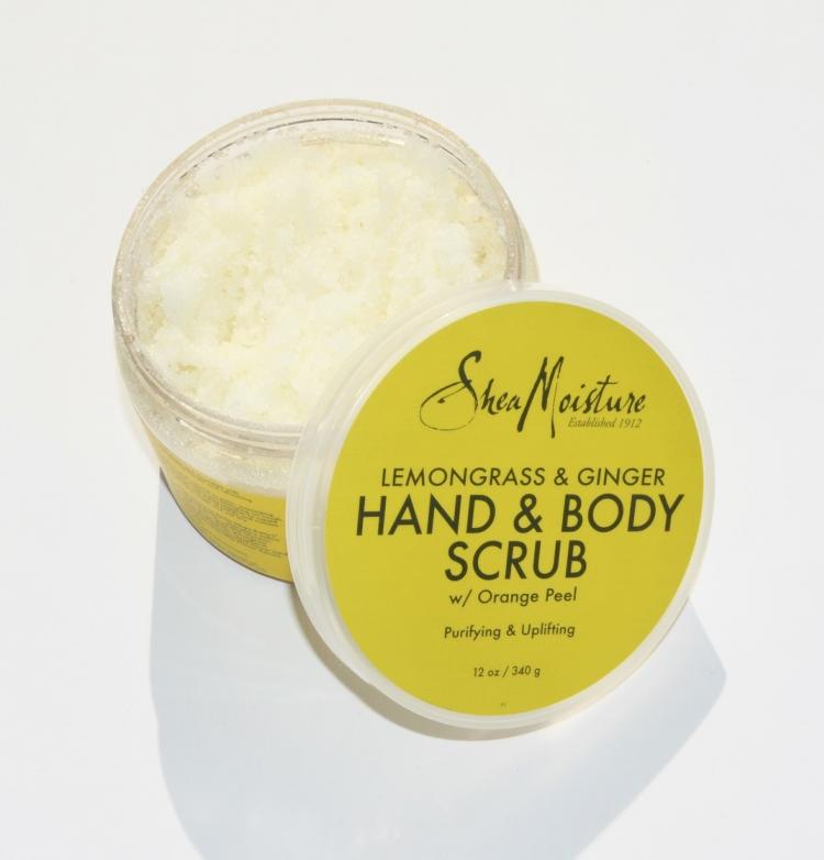 Lemongrass And Ginger Body Scrub