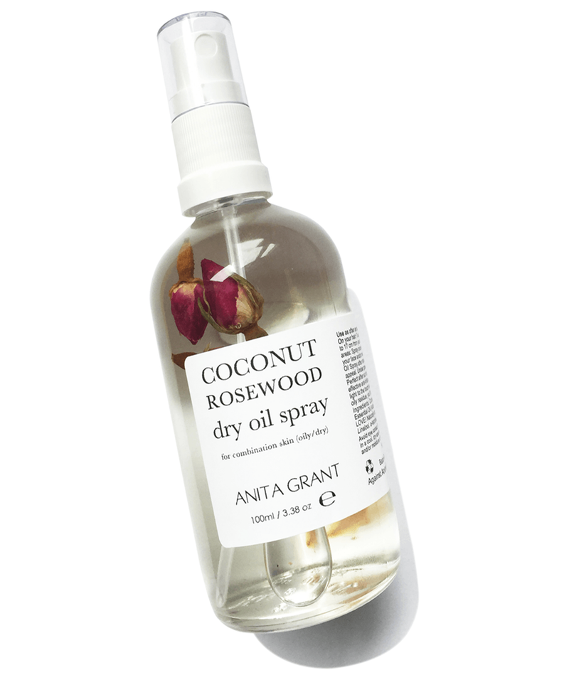 Coconut Rosewood Dry Oil Spray