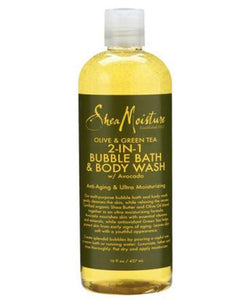 Olive & Green Tea 2-IN-1 Bubble Bath And Body Wash