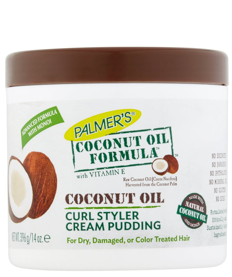 Coconut Oil Formula Curl Conditioner Hair Pudding