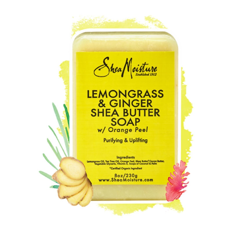Lemongrass And Ginger Shea Butter Soap