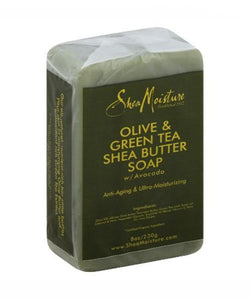 Olive And Green Tea Shea Butter Soap