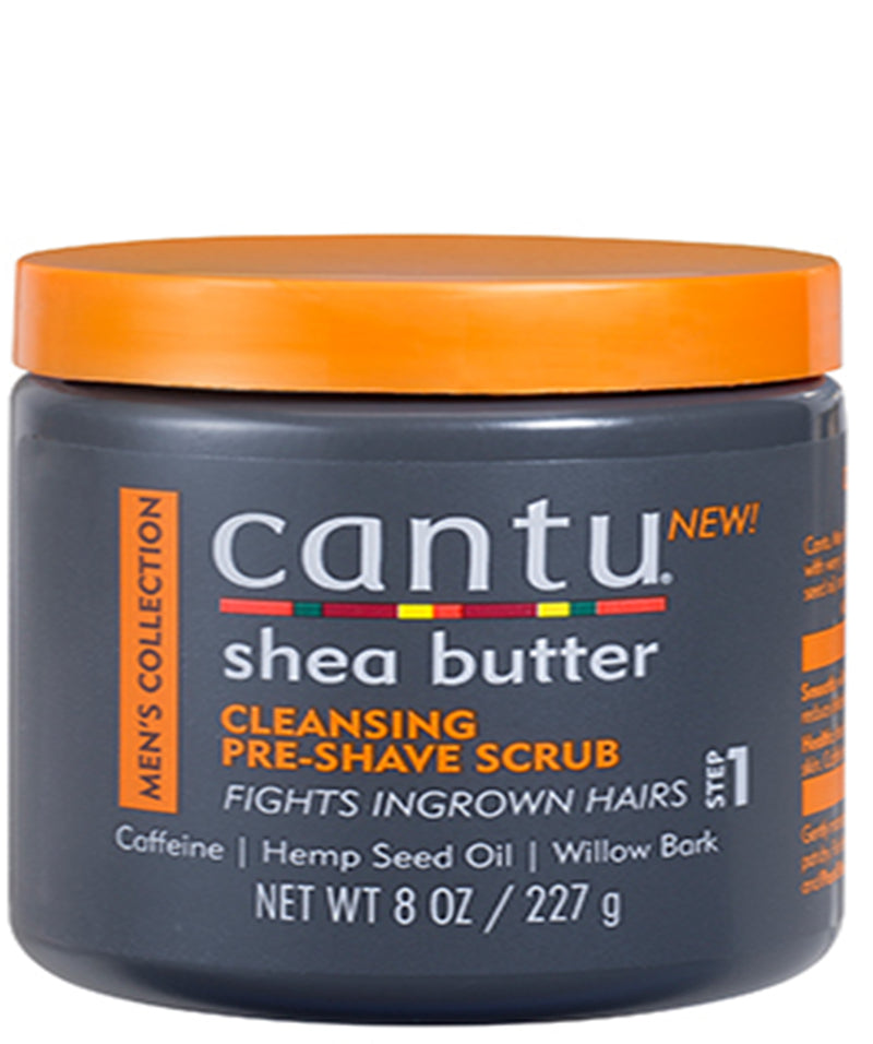 Shea Butter Mens Collection - Cleansing Pre Shave Scrub