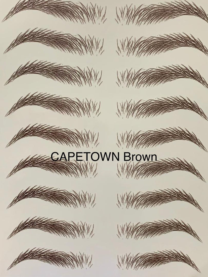 CapeTown Brown Eyebrow Tattoo