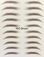 Rio Brown Eyebrow Tattoo