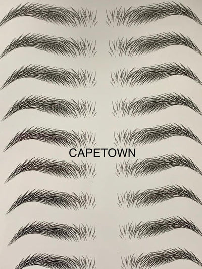CapeTown Black Eyebrow Tattoo