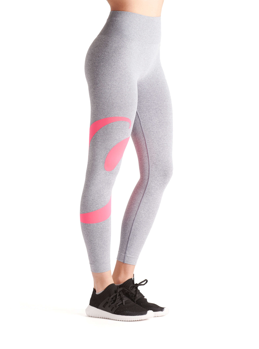 BeFit Keep It Moving Sport Leggings Grey - BeGoodNy