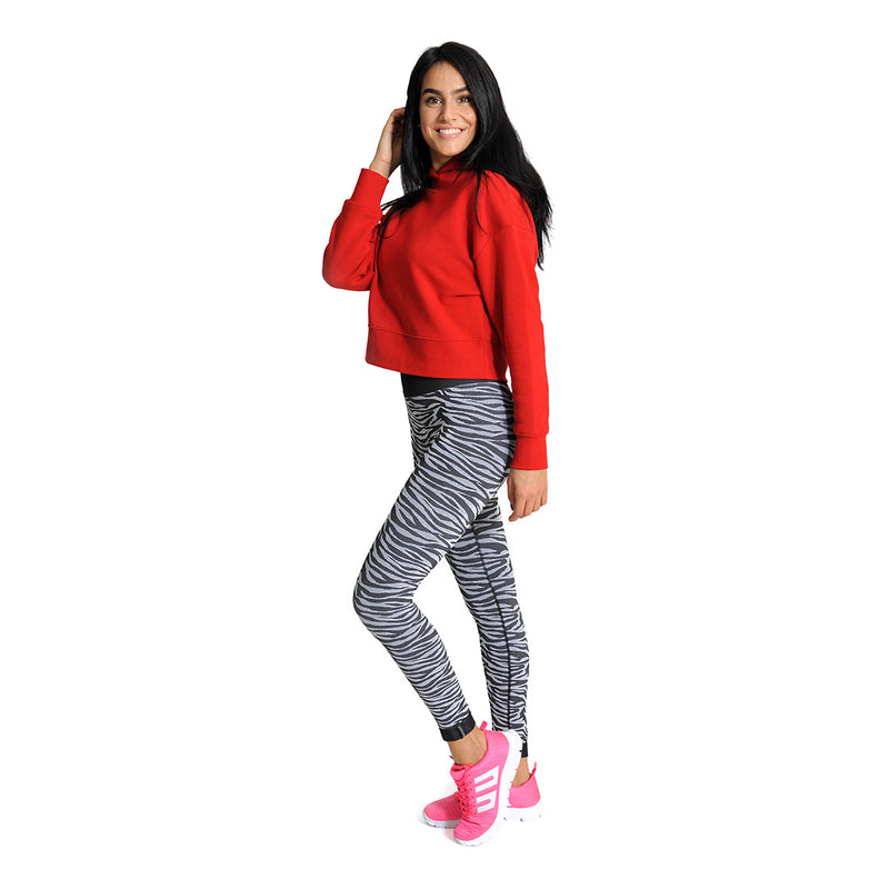 BeWild Beauty On The Go Leggings Zebra - BeGoodNy