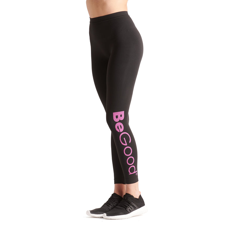 BeFit keep It Moving Sports Leggings Black - BeGoodNy