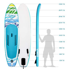 Vingo 305CM SUP Aufblasbares Stand up Paddle Board Set Ideal für Einsteiger