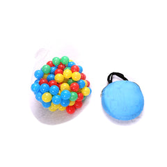 Hengda klappbar blau Zelt Kinderzelt mit 100 Bällen Navy Pop Up Faltbarer Ball Pool Cottage