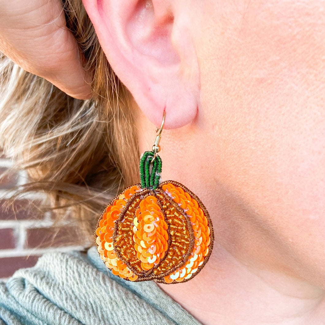 Pumpkin Patch Earring