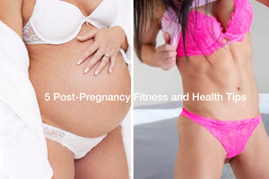 5 Post-Pregnancy Fitness and Health Tips⁣