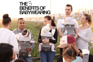 The 5 Benefits of Babywearing