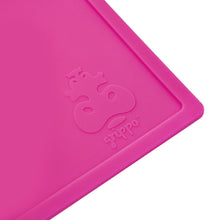 Grippo silicone placemat grips to clean, flat surfaces and is a beautiful blush pink colour.